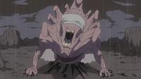 Estatua Demoniaca del Camino Exterior Anime