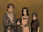 Fugaku con su familia