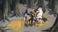 Hiruzen vs Orochimaru