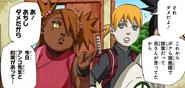 Inojin convida Chōchō e Shikadai para treinar