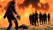 La traición de los ninjas de Iwa al Equipo de Ganryū