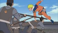 Naruto fugindo
