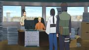 Orochimaru se encontra com Naruto