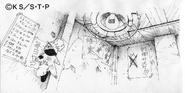 Arte Pierrot - Quarto de Naruto