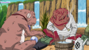 Gamabunta and Great toad