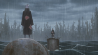 Konan confronts Tobi