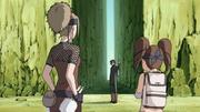 Shira e Yome saindo de Suna