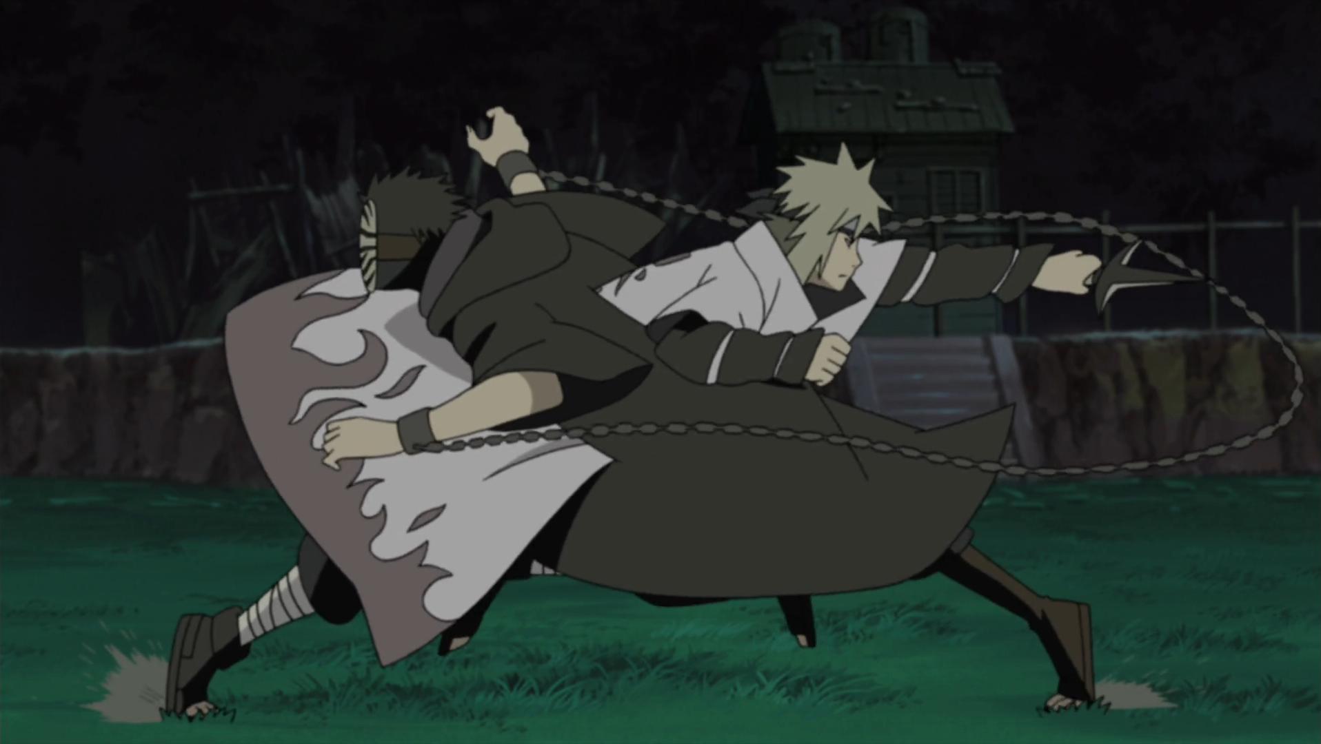 The Fourth Hokage's Death Match | Narutopedia | Fandom