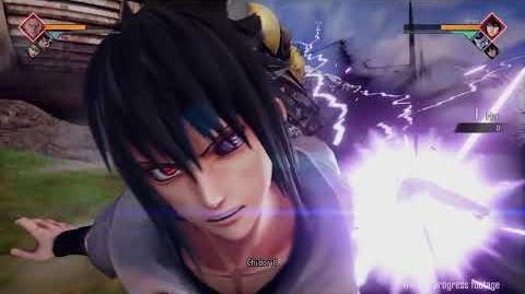 JUMP FORCE Gameplay Sasuke Uchiha (Naruto Shippuden) vs Roronoa Zoro (One Piece)-0
