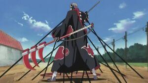 Jutsu Costura de Sombra Anime