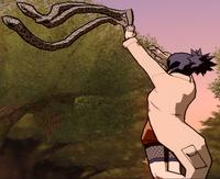 Mãos de Serpente Oculta na Sombra (Anko - Game)