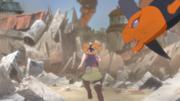 Moegi comes to Sota's rescue