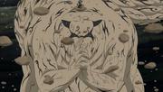 Shukaku molda seu chakra