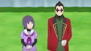 Sumire conversando com Shino