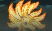 Naruto's tailed beast mode