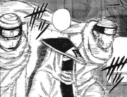O Kazekage inicia o ataque