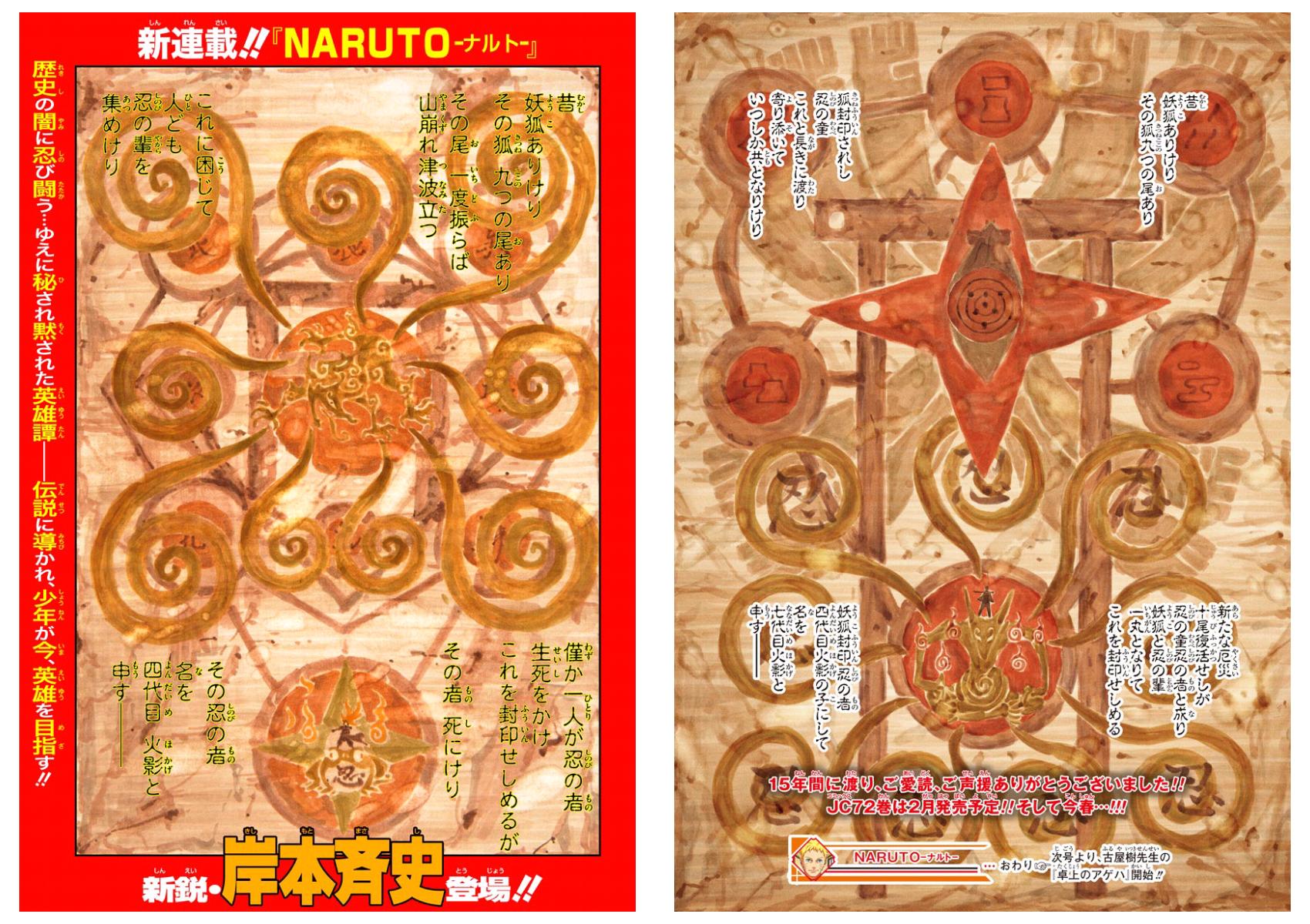 Imagen - Primera y Última página del Manga Naruto.png | Naruto Wiki ...