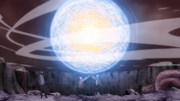 Boruto and Naruto's Combined Rasengan