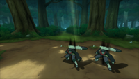Técnica de Cintilação Corporal (Kisame - Game)
