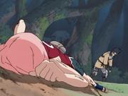 Zaku derrota Sakura