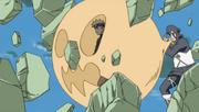 Dodai protegiendo a Naruto
