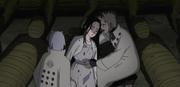 Hagoromo y Hamura encuentran el cadáver de Haori
