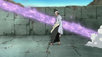 Gdy Danzō zostaje ranny...
