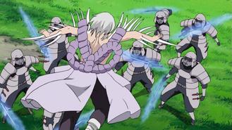 Kimimaro vs. Samurai