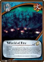 Mundo de Fuego PNG