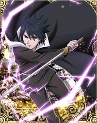 Raiton Roxo de Sasuke