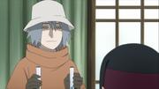Tosaka faz análises do sangue de Jūgo