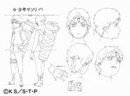 Arte Pierrot - Sasori Shinobi