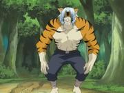 Mizuki como tigre humanoide