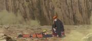 Pain clava un Receptor Negro en Naruto
