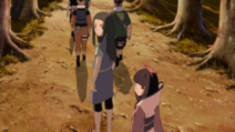 Shū, Chiyo and Team 10