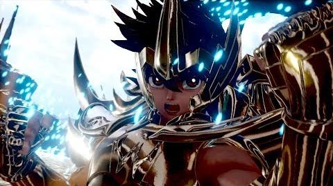 Jump Force - Saint Seiya Characters Trailer BGS 2018 (HD)