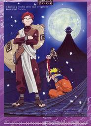 Naruto Calendario 2006 Mayo-Junio Versión B