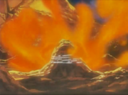Sasuke atinge Naruto