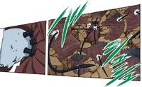 Técnica Branca Secreta - A Coleção de Dez Marionetes de Chikamatsu - Ataque da Terra (Mangá)