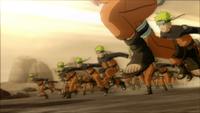 Técnica dos Múltiplos Clones da Sombra (Naruto Uzumaki-Game)