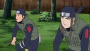 Tokuma e Ranka sendo controlados contra seus aliados