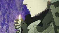 Encendedor con tema de serpiente de Mitsuki