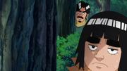 Guy observando Kakashi e sendo observado por Duy