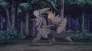 Jūgo confronta Tosaka