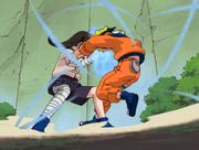 Neji se battant contre Naruto