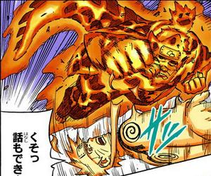 Elemento Lava Puño Ardiente Blindado Manga