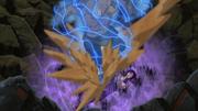 Gaara protege Sasuke