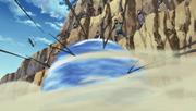 Hizashi utilizando la Rotación Celestial de los Ocho Trigramas