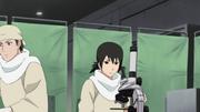 Kumadori e Shizune estudando