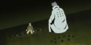 Naruto se encuentra con Hagoromo